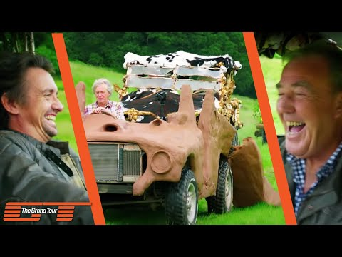 The Grand Tour: May's Mud Car