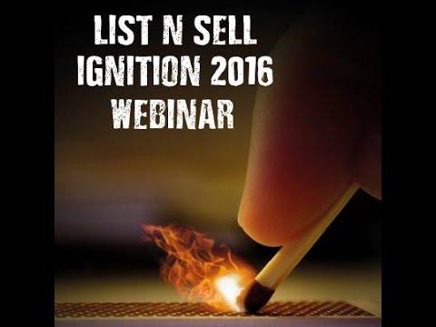 • LIST n' Sell 2016 • Ignition • IMPLëMENTOR •