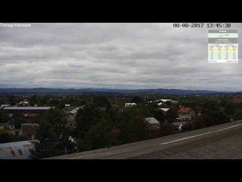 Live Stream - Погода в Коломиї, Україна, (Kolomyya/Ukraine). PTZ HD weather camera