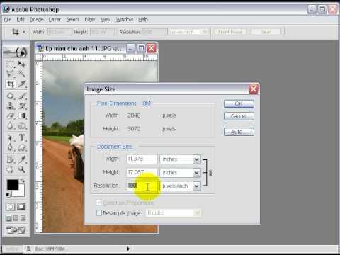 7iun Huong Dan Photoshop CS3 - Cach Kiem Chung Chat Luong Anh 18/39
