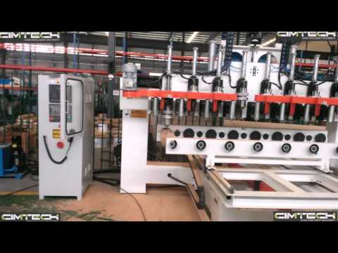 IRAN 4D WOOD ROUTER MACHINE, 8 SPINDLES 4AXIS CNC MACHINE, HIGH PERFORMANCE MULTI HEADS 4AXIS CNC RO