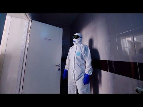 В каких условиях лежат с коронавирусом в России / #ДомаВместе / Лядов с Места Событий