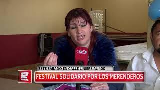 Festival solidario a beneficio de merenderos.