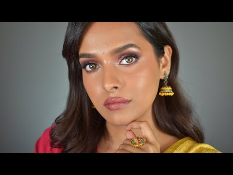 SOFT GLAM INDIAN MAKEUP LOOK FOR FESTIVE SEASON