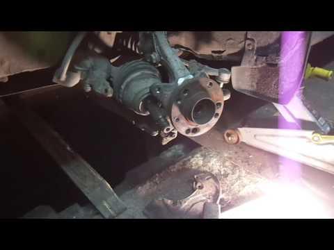 Замена передней ступицы и подшипника VW Pasat B4
