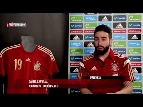 """Carvajal: """"Mis ídolos siempre han sido Míchel Salgado, Sergio Ramos y sobre todo Raúl"""""""