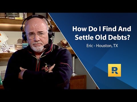 How Do I Find And Settle Old Debts?