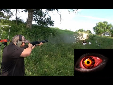 12 Gauge Dragons Breath at Distance! Redeye Reloading Specialty Ammo