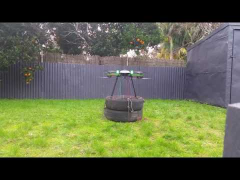 EMI Testing of 10kg Heavy lift drone. (22lbs)