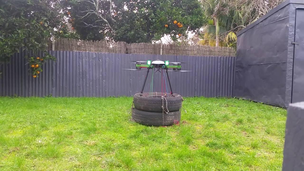 emi testing of 10kg heavy lift drone 22lbs youtube