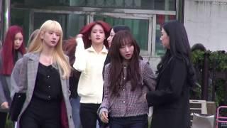 20181012 우주소녀  뮤직뱅크 출근길