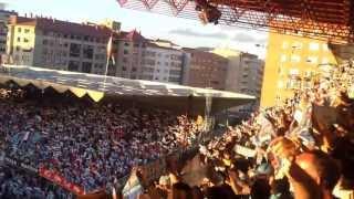 Rianxeira En Balaidos. Ascenso del Celta de Vigo 2012 (video 2)