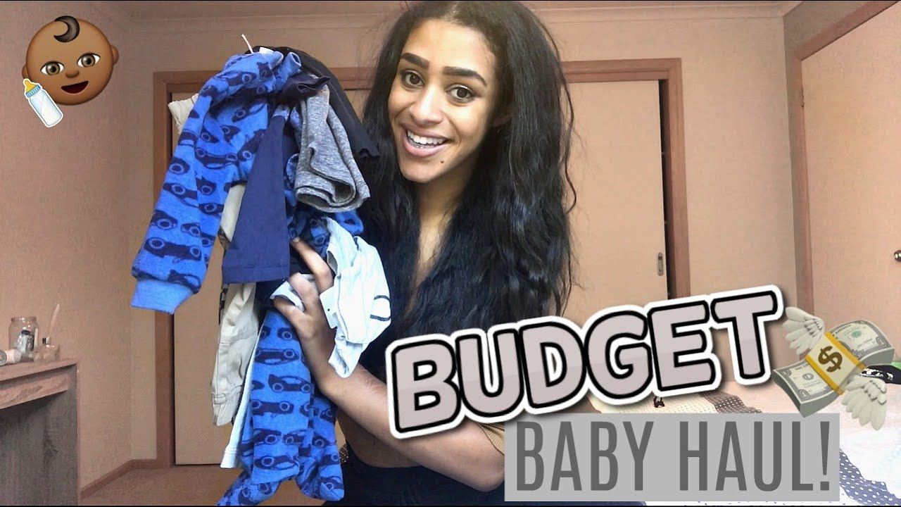 Budget Baby Clothes Haul  E  A Affordable Cute Stylish