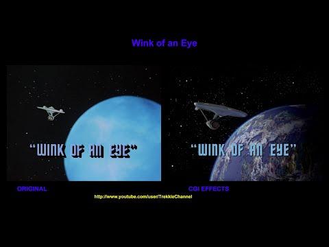 Star Trek - Wink of an Eye - visual effects comparison
