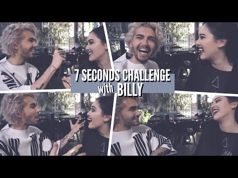 7 SECONDS CHALLENGE WITH BILL KAULITZ | cleotoms