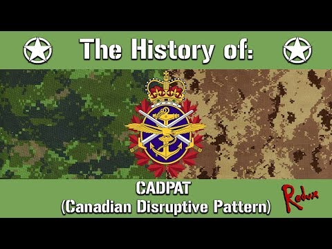 The History Of: The Canadian CADPAT Camouflage Pattern | Uniform History
