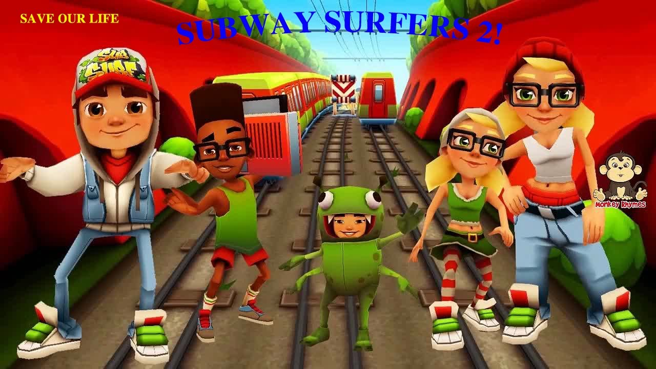 Subway Surfers 2 – Nhảy tàu chạy trốn nhặt tiền – Happy Holidays in Amsterdam,Holland (video game)