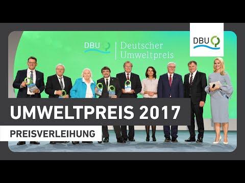 Verleihung des Deutschen Umweltpreises 2017