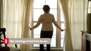 Mississippi Power - Ways to Save: Take advantage of heat from the sun.
