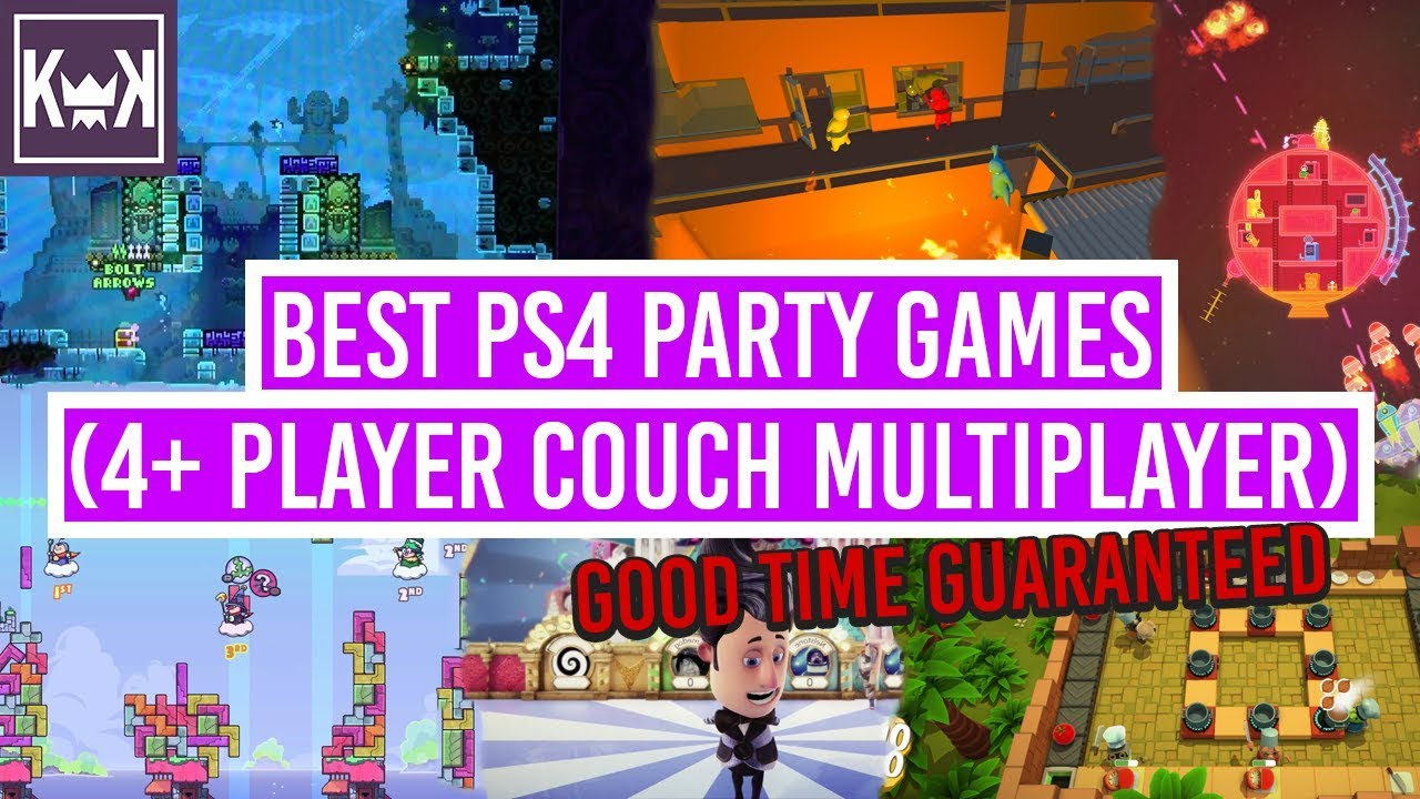 Marvelous Best PS4 Party Games (4+ Player Couch Multiplayer)