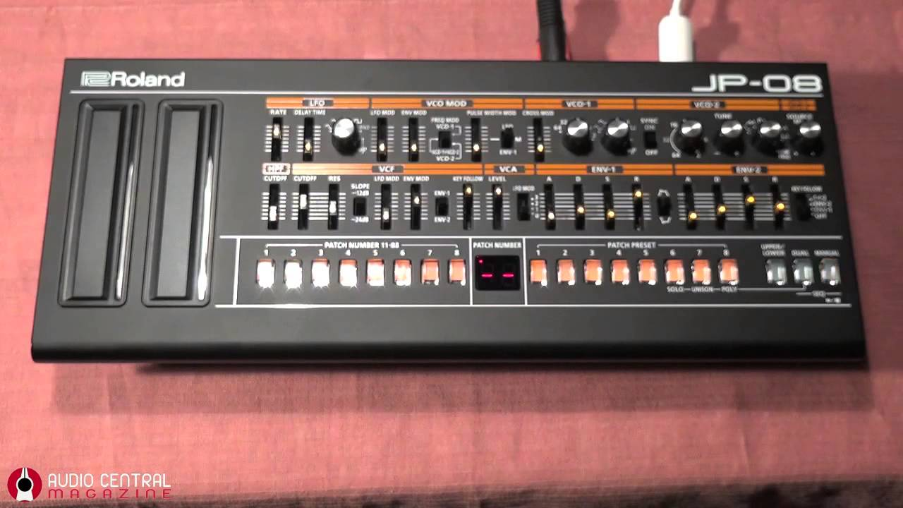 some sequencing with roland jp 08 youtube. Black Bedroom Furniture Sets. Home Design Ideas