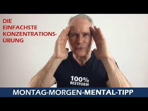 Mental Tipp Die einfachste Konzentrationsübung
