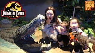 공룡 탐험. 잃어버린 세계를 찾아서 모험을 떠난 원더키즈TV. 애니멀 테마파크 주렁주렁 동물원  animal theme park