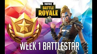 Secret Battle Star Saison 5 Semaine 1 Emplacement - Fortnite Battle Royale Saison 5