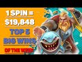 MUST SEE Online Casino Big Wins Compilation #21 ⭐ Slots Jackpots of the Week ⭐ OnlineCasinoPolice
