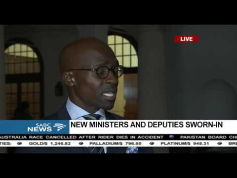 Malusi Gigaba on his appointment as the new Finance Minister