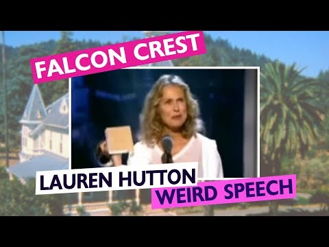Lauren Hutton speech