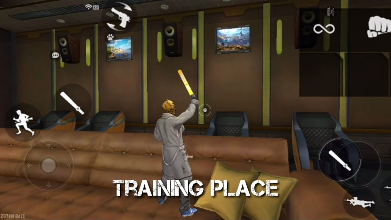 Download HIDDEN PLACES IN TRAINING GROUND FREE FIRE | CLIMB BIG HOUSE IN TRAINING - BROKEN JOYSTICK