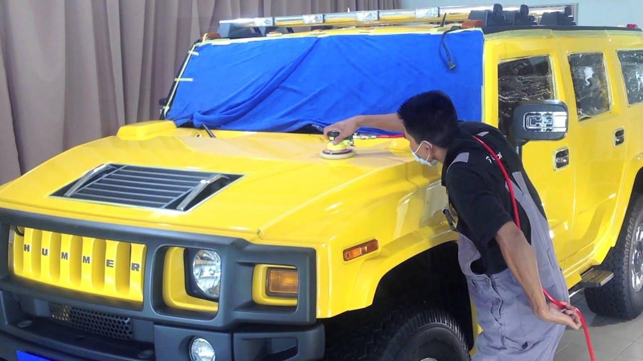 G Guard Car Polish Coating and Detailing Malaysia Hummer H2