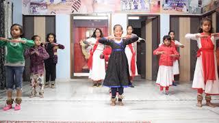 kathak dance practice In Jaipur Sangeet Mahavidyalaya