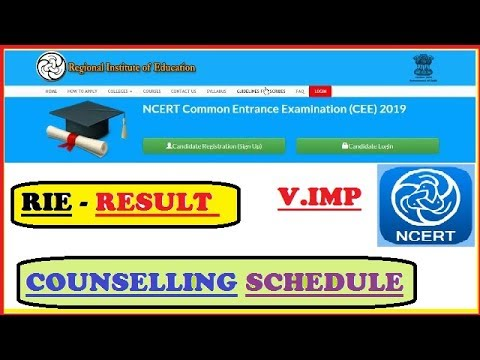 RIE Cee Result | Counselling | Eligibility | Admissions Process In Universities | Top Colleges