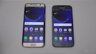 Samsung Galaxy S7 & S7 Edge  - Unboxing, Setup & First Look