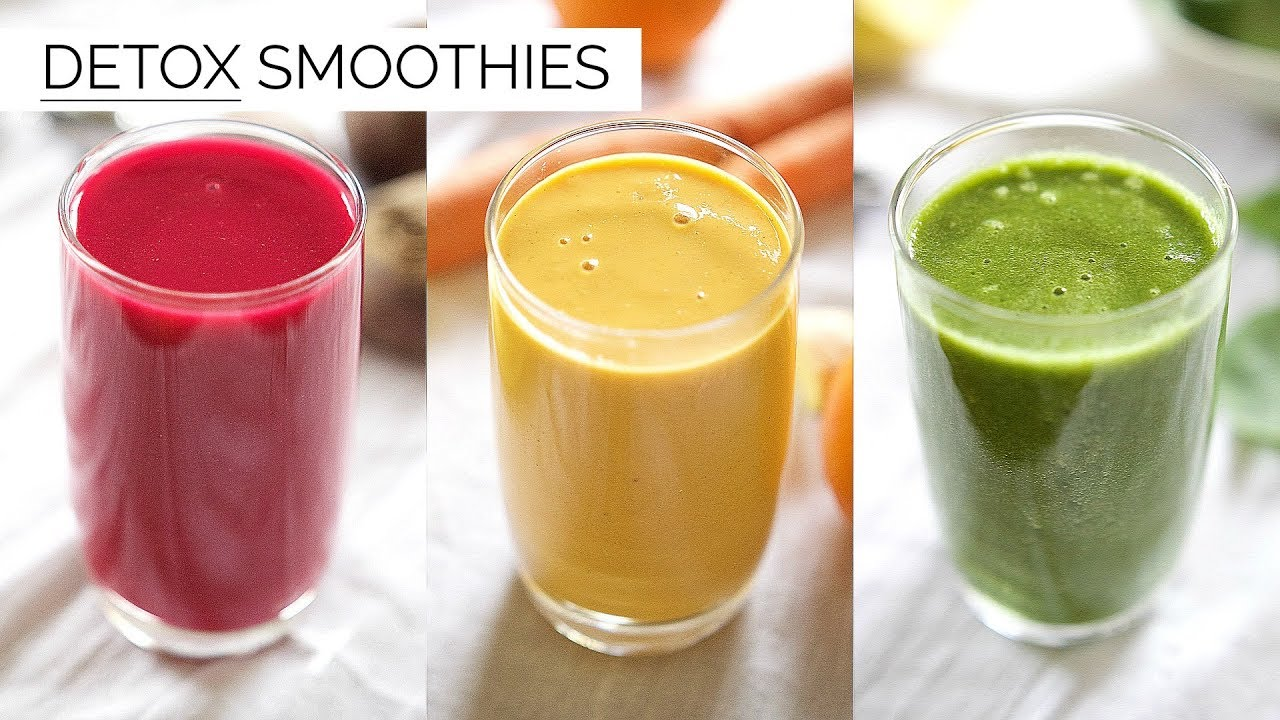 detox smoothie diet recipes