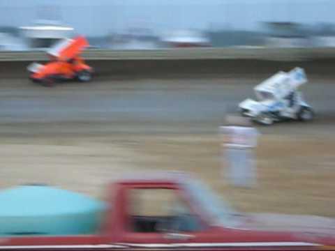 Jr.  Stewart Heat Race waynesfield motor sports park 2008