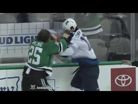Adam Lowry vs Brett Ritchie Oct 6, 2018