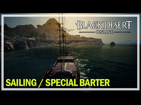 Black Desert Online - Hakoven Island Sailing & Special Barter