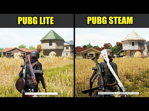 pubg-lite-vs-pubg-steam-(graphics-&-fps-comparison)
