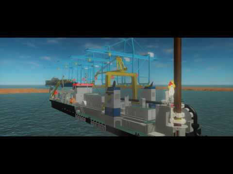 IHC training simulator cutter suction dredgers (CSDs)