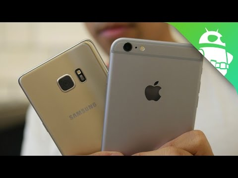 Samsung Galaxy Note 7 vs Apple iPhone 6s Plus first look