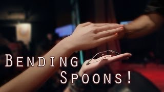 Magician Bending Spoons [Live] [Magic] - The Mind Illusionist Moustapha Berjaoui Thumbnail