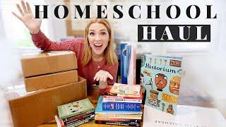 HUGE HOMESCHOOL HAUL \\ Books, Curriculum + Supplies