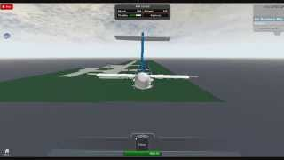 Roblox airline landing By coolkid219612