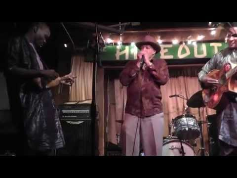 Sidi Touré and Billy Branch at the Hideout Chicago2014