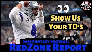 2019 Fantasy Football Rankings - Top Players with Huge Touchdown Upside ?