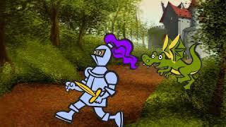 Мультик про рыцаря и дракона
