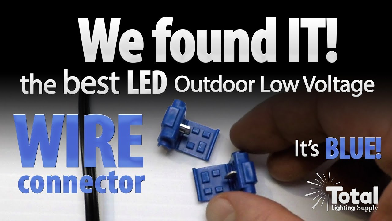 We found it best led outdoor low voltage wire connector and its best led outdoor low voltage wire connector and its blue total lighting supply keyboard keysfo Choice Image